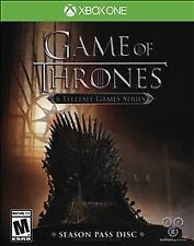 Game of Thrones: Season Pass Disc (Microsoft Xbox One, 2015) Brand NEw Sealed