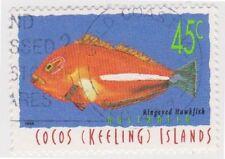 Fish Australian Cocos Islander Stamps