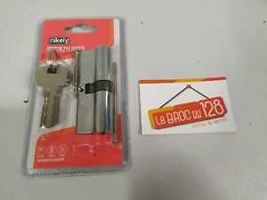 Barillet cylindre serrure de porte - 80mm - 5 clé - NEUF - Haute qualité