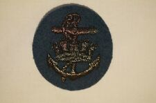 Canadian Forces RCAF Sea Service Pewter Subdued Patch Insignia