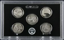 2017 S Enhanced Quarter 5 Coin Set