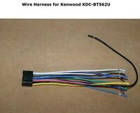 KENWOOD ORIGINAL WIRE HARNESS KDCX500 KDCX599 KDCX700 KDCX799 KDC262U
