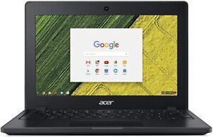 "Acer Chromebook 11C771T-C1WS 11.6"" HD Multi-touch Celeron 3855U 4GB RAM 32GB eM"