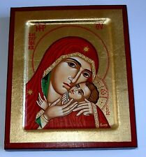 Ikone russisch Madonna Muttergottes Maria Jesus Ikone Icon Icone Ikona Holy Mary