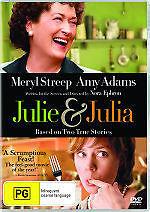 JULIE AND JULIA - BRAND NEW & SEALED R4 DVD (MERYL STREEP, AMY ADAMS)