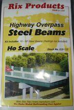 Rix (HO-Scale) #628-0125 Steel Beams Highway Overpass - NIB