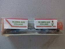 Wking Sammlungsauflösung Lastzug mit Tandemanhänger Blumen aus Hollang