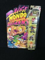 VINTAGE  TOY 1991 SEALED SAVAGE MONDO BLITZERS KENNER DAMAGED & DEADLY GANG NOS