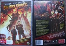 BIG ASS SPIDER RARE OOP DELETED DVD PAL MOVIE GREG GRUNBERG & RAY WISE COMEDY