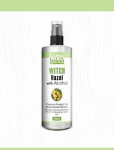 Witch Hazel Pure Natural Distilled Skincare  Face Toner.With alcohol 100ml SPRAY