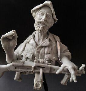 AC Models Selous Scout 1/12th Unpainted resin bust/half figure kit
