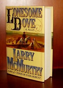 Lonesome Dove, Larry McMurtry * Signed 1st/2nd Edition * Hardcover w/Dust Jacket