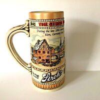Vintage Stroh's Heritage Series II Brewery Co. Beer Stein Ceramarte Brazil