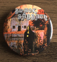 BLACK SABBATH Album Cover BUTTON BADGE UK Heavy Metal Rock Band 25mm Pin