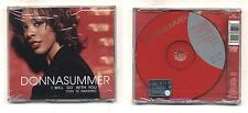 Cd DONNA SUMMER I will go with you Con te partirò NUOVO Cds single 4 TRACKS