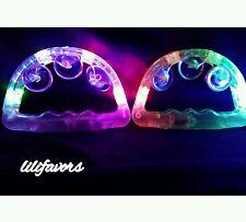Light Up Musical Tambourine Flashing LED Blinking Toy Favor