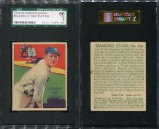 1934-36 DIAMOND STARS #60 CHARLEY RED RUFFING SGC 60 5 (57069)
