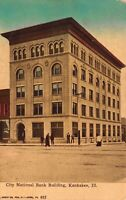 Postcard City National Bank Building in Kankakee, Illinois~121733
