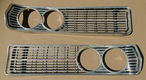 Grill Grille Galaxie 500 Ford 68 1968 galaxy