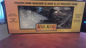 MTH RAIL KING NO. 30-7911 NORTHERN PACIFIC OPERATING CRANE CAR