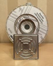vidaXL Duschwanne 80x80x13,5cm Acryl Weiß Duschtasse Acrylwanne Brausewanne