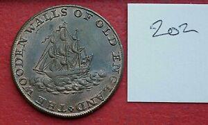 1795 Middlesex - National Series Half Penny Token - Duke of York (202)