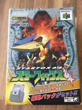 N64:         STARFOX 64 / RUMBLE PACK            JAPAN