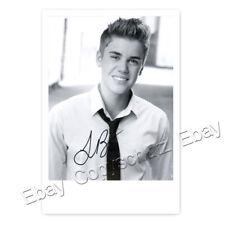 Justin Bieber - (The Bieb) Singer | Actor | -  Autogrammfotokarte [AK12]