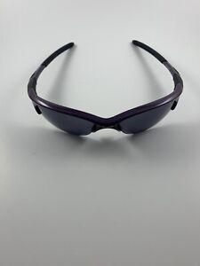 Oakley Half Jacket 1.0 Metallic Purple Black Iridium 03-623 Gen 1 NEW RARE