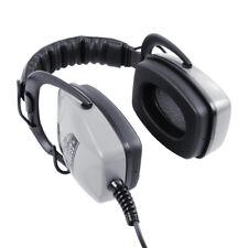 "DetectorPro Gray Ghost Deep Woods Heavy Duty Headphoneswith 1/4"" Angle Plug"