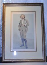 Limited Ed. Vanity Fair Cartoon 1896 The Manxman Lithograph Men of The Day #651