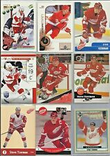 Steve Yzerman 10 Hockey Card Lot - UD Retrospectives Insert Card - Red Wings