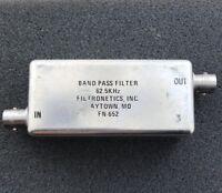 4 Poles Crystal filter AM 1750 KHz BW 5 KHz