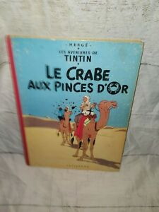 1947 / 1949 Tintin Le Crabe Aux Pinces D'Or - Color Casterman Herge - FLAWED