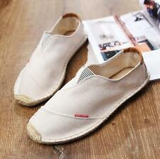 Leisure Men's Slip On Breathable Flat Casual Shoes Loafers Comfort Summer Shoes