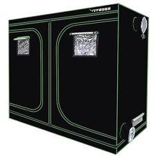 VIVOSUN 96 X48 X80 Mylar Hydroponic Grow Tent With Observation Window and Floor