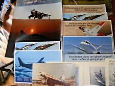 Collection Of Large Aircraft Posters Including Adverts + USS Guadalcanal, Etc.