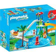 PLAYMOBIL Aquapark mit Rutschentower, Konstruktionsspielzeug
