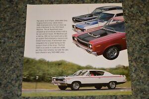 ★★1970 AMC REBEL MACHINE PICTURE FEATURE PRINT PHOTO 70 390 ENGINE★★2
