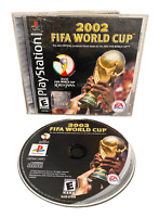 2002 FIFA World Cup  PS1 PlayStation 1 Game