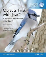 NEW Objects First with Java A Practical Introduction Using BlueJ 6E David Barnes