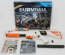 NEW PS3 Cabela's Survival Shadows of Katmai Game w/Top Shot Elite Rifle Gun NEW