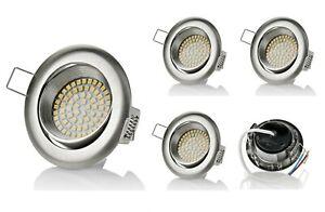 5er sweet led 350 lumen LED Einbaustrahler Ultra Flach Deckenspots Einbauspots