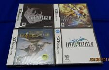 DS - Final Fantasy Heroes + III + IV + XII Revenant Wings ~ New Sealed Games!