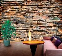 3D Stone Brick Wall 717 Wallpaper Mural Paper Wall Print Wallpaper Murals UK
