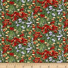 Fat Quarter phare Wonder fleurs 100/% coton quilting tissu-Orange