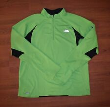 The NORTH FACE Running RUNNERS PULLOVER Flight Series NEON GREEN & BLACK Size XL