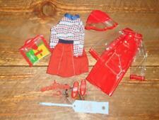 Vintage COMPLETE Skipper Get Ups N Go Red Rain Set ~ #9747