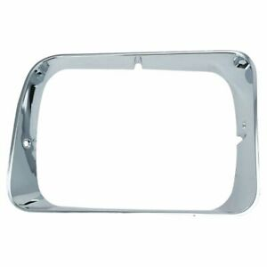 Chrome Headlight Trim Bezel Right RH for Dodge D/W Truck
