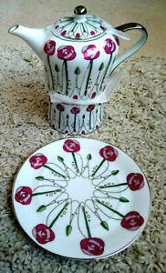 The Leonardo Collection Tea Set - Teapot, Cup and Saucer - Excellent Condition